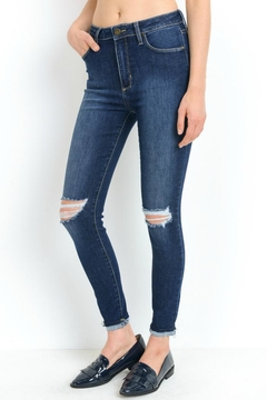 just black High Rise Destroyed Denim - Product List Image