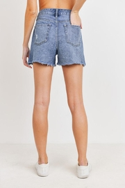 just black High Rise Shorts - Side cropped