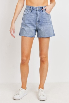 just black High Rise Shorts - Product List Image