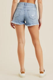 just black High-Rise Shorts, Denim - Side cropped