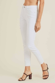 just black High-Rise Skinny Jeans - Side cropped