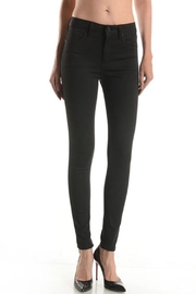 just black Comfy Black Jeggings - Product Mini Image