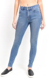 just black High Waisted Jeans - Product Mini Image