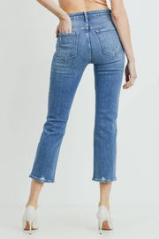just black Official Weekend Jean - Side cropped