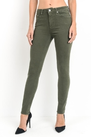 just black Olive Ankle Skinny - Product Mini Image