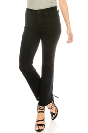 just black Scissor Cut Jeans - Product Mini Image
