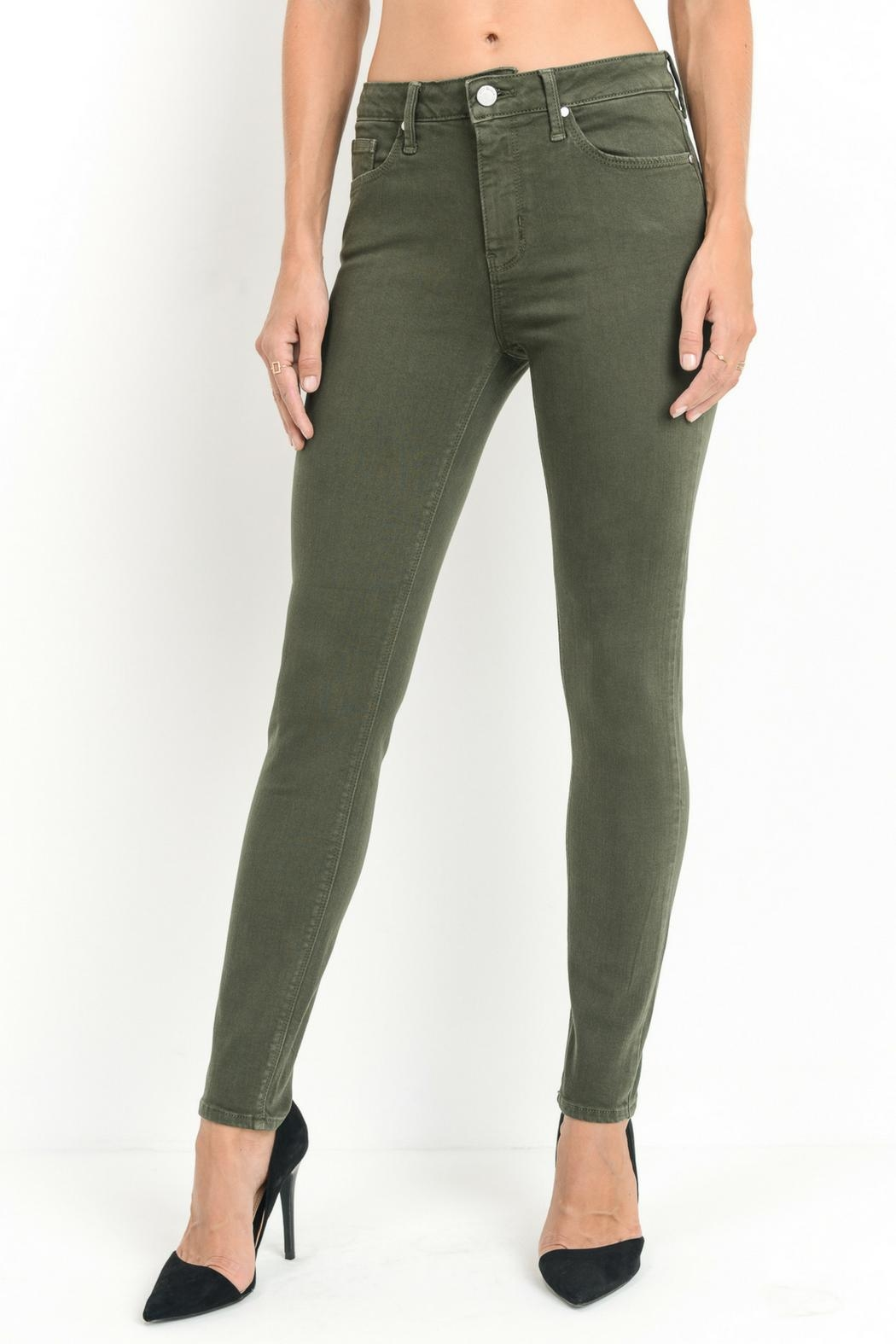 just black Skinny Jeans Olive from Virginia by Sweetest Stitch ... 18b822bff