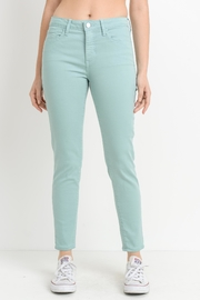 just black Spearmint Skinny Jean - Product Mini Image