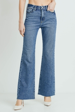 Shoptiques Product: Vintage Wide Leg Denim