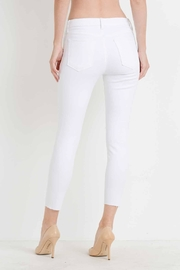 just black White Distressed Skinny Jean - Side cropped