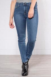 just black Cropped Super Skinnies - Product Mini Image
