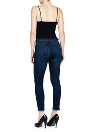 just black Frayed Jeans - Front full body