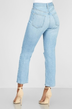 Just Black Denim Hi-Rise Mom Jean - Alternate List Image