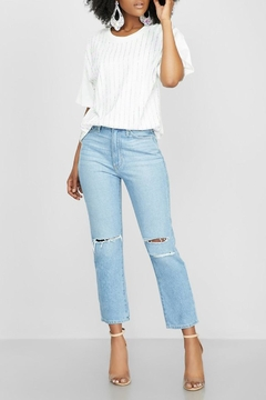 Just Black Denim Hi-Rise Mom Jean - Product List Image