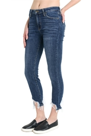 just black High Rise Shark Jeans - Front full body