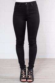 just black Highrise Ankle Skinny - Product Mini Image