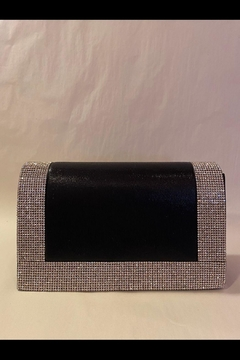Shoptiques Product: Black Embellished Clutch