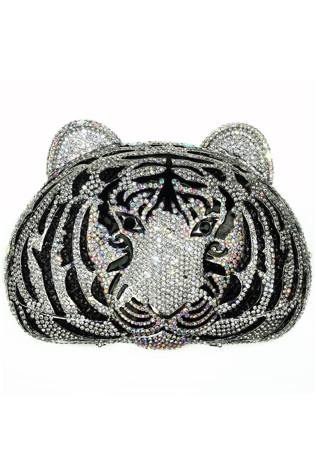 Just Fantastic, Inc Tiger Evening Clutch - Front Cropped Image