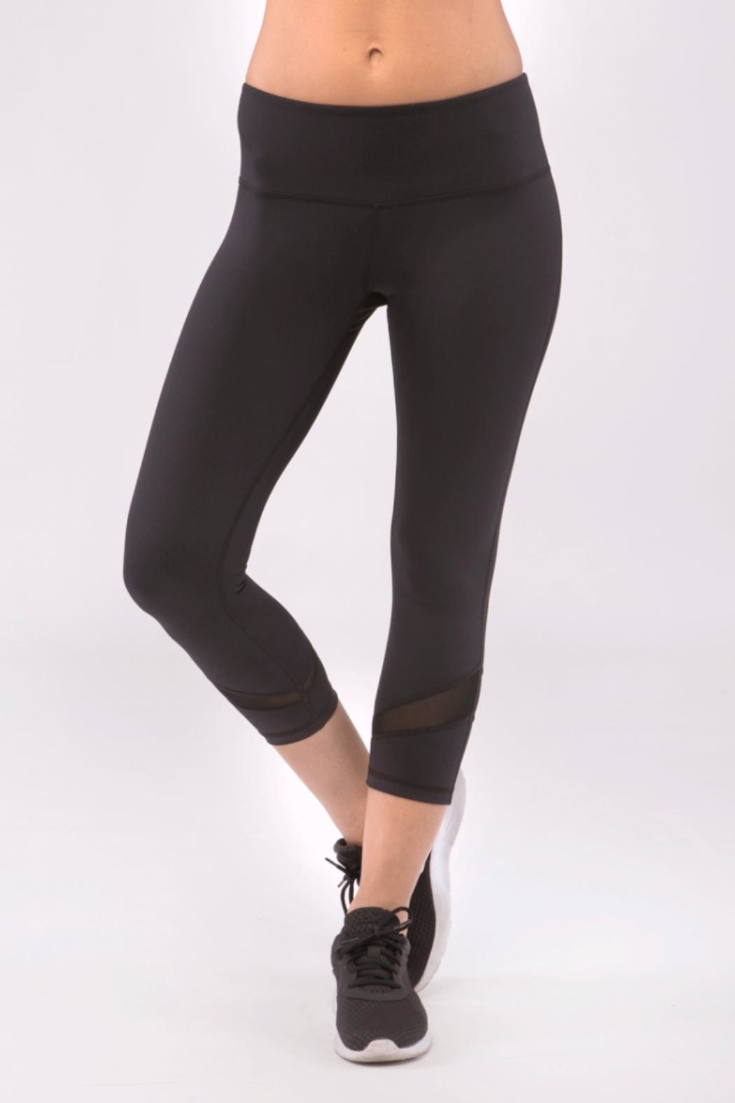 Just Live Crop Skin Yoga Pant - Front Cropped Image