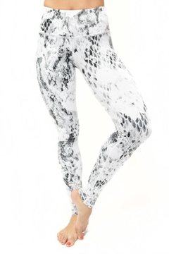 Shoptiques Product: Reptile Rose Leggings