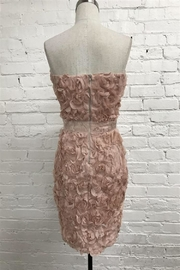 Just Me Floral Tube Dress - Front full body