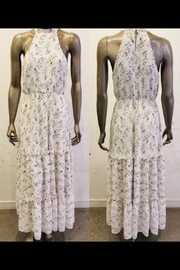 Just Me Halter Floral Maxi - Product Mini Image