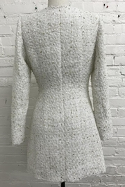 Just Me Long-Sleeve Tweed Dress - Front full body