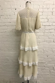 Just Me Pleated Tiered Dress - Front full body