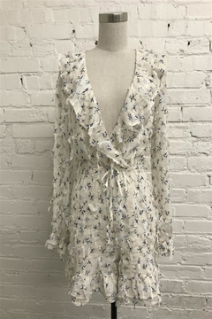 Just Me Ruffled Floral Romper - Product List Image