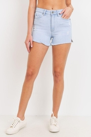 Just Panmaco Inc. High Rise Frayed Short - Product Mini Image
