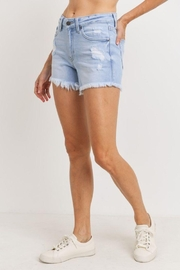 Just Panmaco Inc. Mid Rise Distresed Short - Side cropped