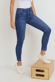 Just Panmaco Inc. Skinny Button-Up Jeans - Front full body