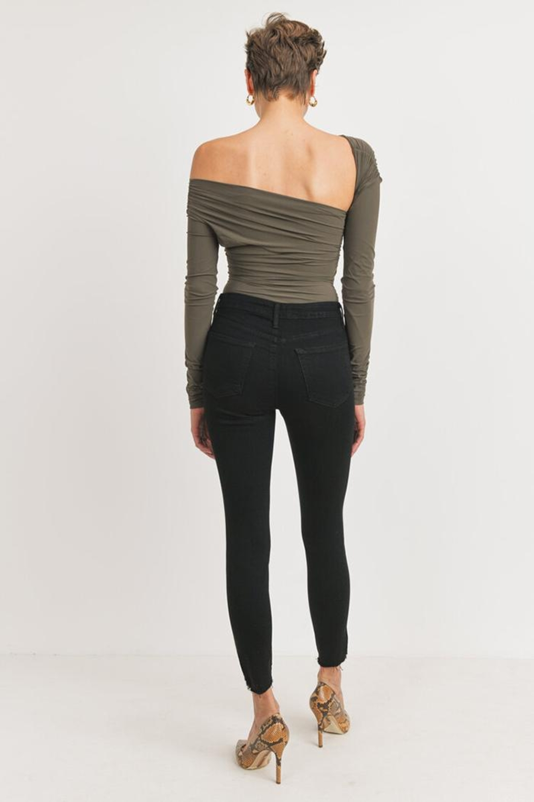 Just Panmaco Inc. The Femme Skinny - Back Cropped Image