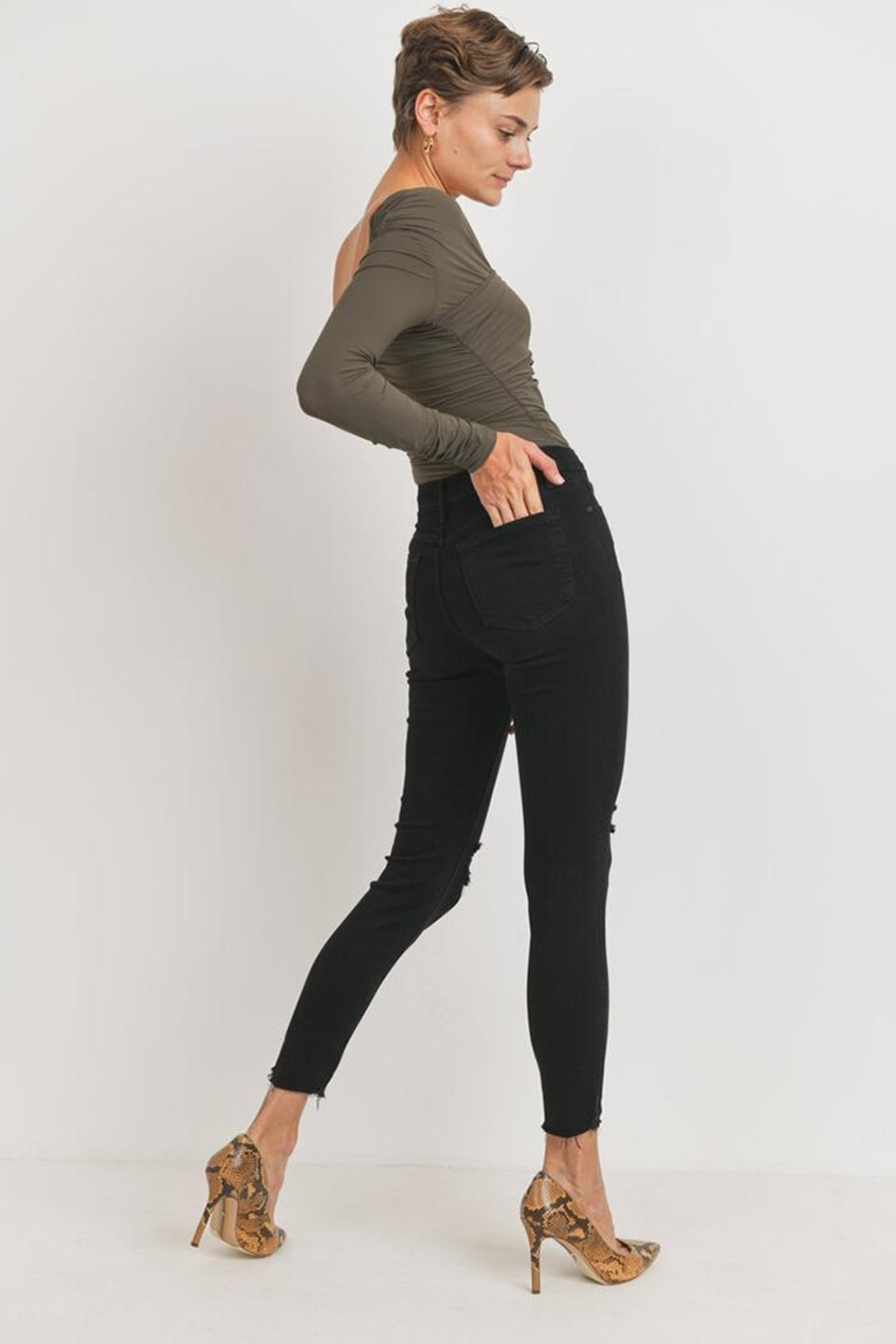 Just Panmaco Inc. The Femme Skinny - Side Cropped Image
