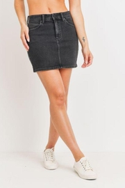 Just Panmaco Inc. Vintage Mini Skirt - Front cropped