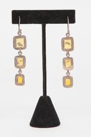 Just Tantau 3-Piece Amber Earrings - Back cropped
