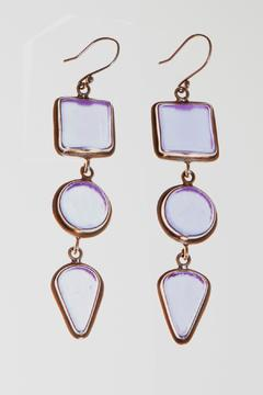 Shoptiques Product: 3-Piece Beachglass Earrings