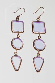 Just Tantau 3-Piece Beachglass Earrings - Front cropped