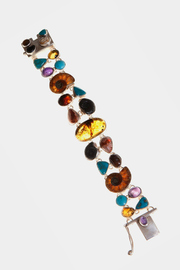 Just Tantau Ammonite And Stones Bracelet - Product Mini Image