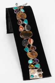 Just Tantau Ammonite And Stones Bracelet - Front cropped