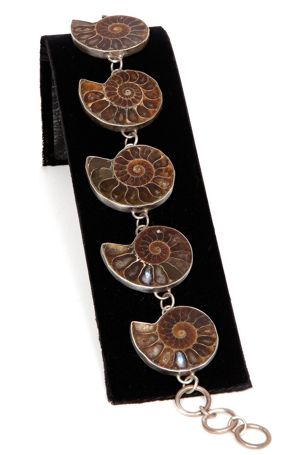Just Tantau Ammonite Bracelet - Side Cropped Image
