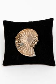 Just Tantau Ammonite Pin - Front full body