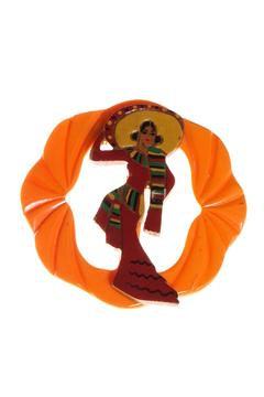 Shoptiques Product: Deco Dancer Pin