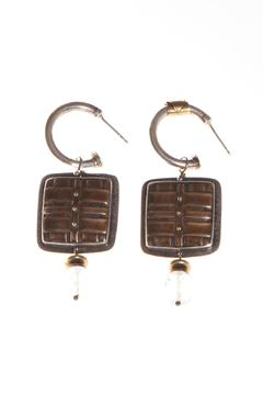 Just Tantau Hoops With Dangles - Product List Image