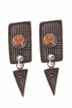 Shoptiques Product: Spiny Oyster Earrings