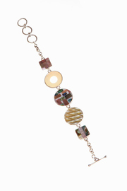 Just Tantau Squares And Circles Bracelet - Front cropped