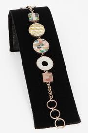 Just Tantau Squares And Circles Bracelet - Front full body