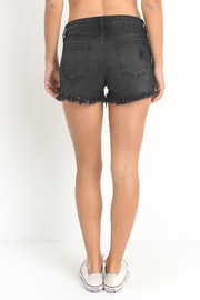 Just USA Black Cutoff Short - Side cropped