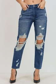 Just USA Destroyed Girlfriend Jeans - Product Mini Image