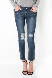 Just USA Distressed Blue Jeans - Product Mini Image
